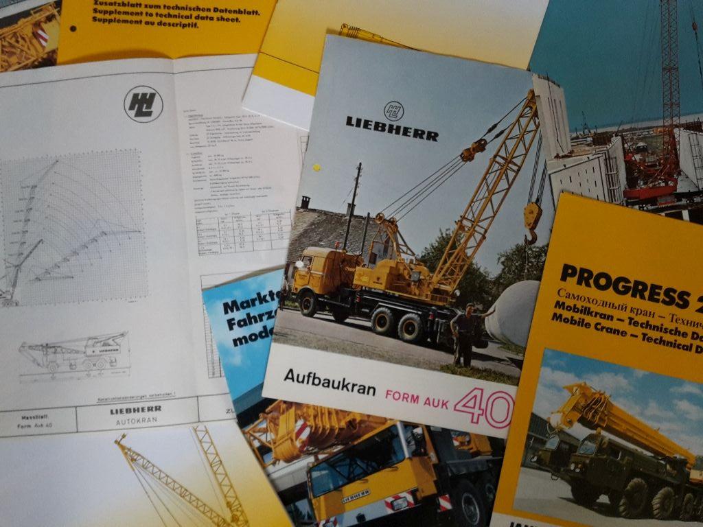 Technische Beschreibung Liebherr Turmdrehkran 3150 HC von 06//1986 Datenblatt